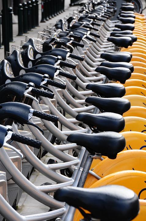 Sport, No Person, Wheel, Row, So Much, Bike, Cycling