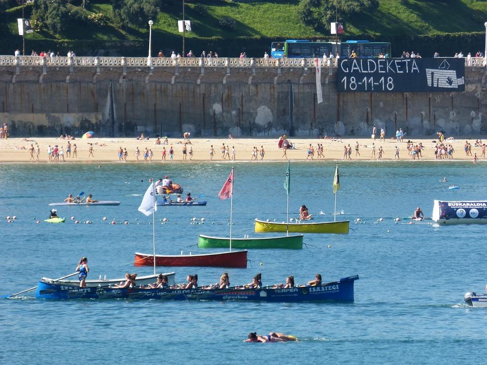 Regatta, Euskadi, Rowers, Rowing, Traineras, Shell