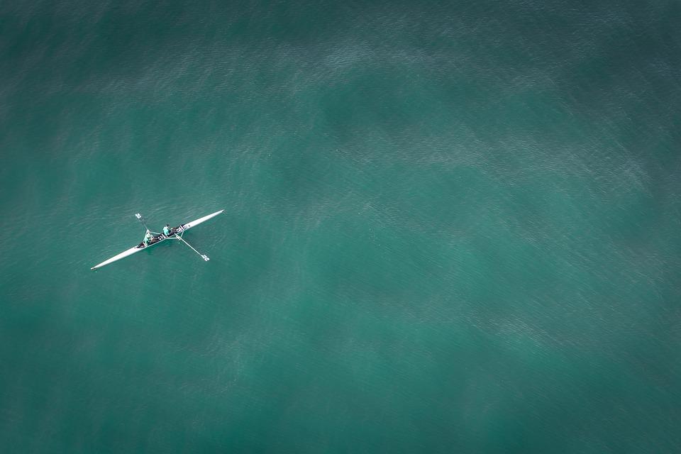 Boat, Rowing, Rowing Boat, Water Sports, Ocean