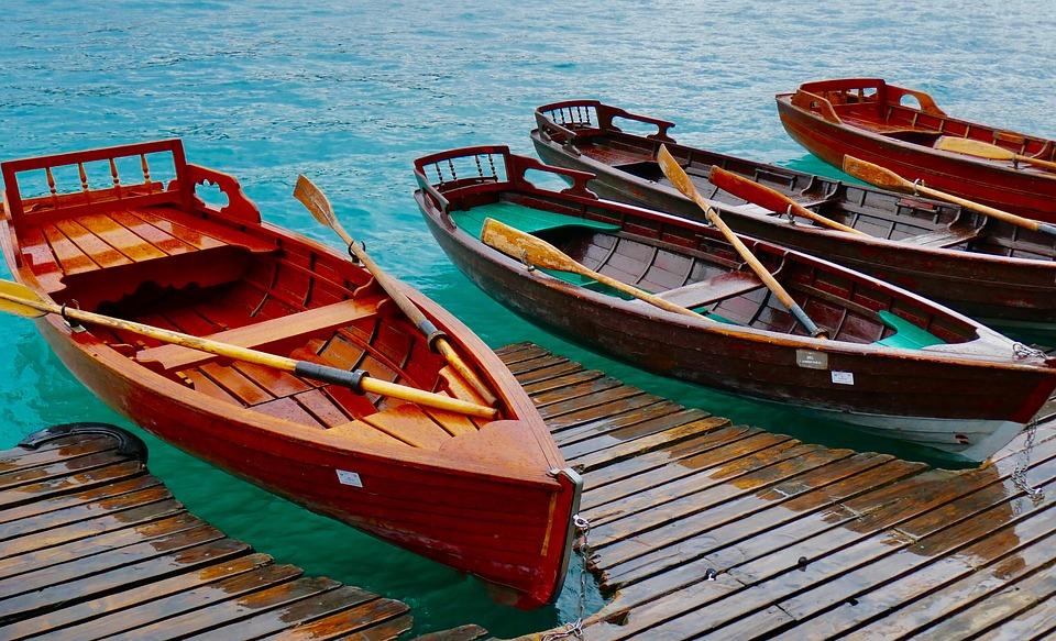 Rowing Boats, Wooden Boats, Boat, Water, Ship, Boats