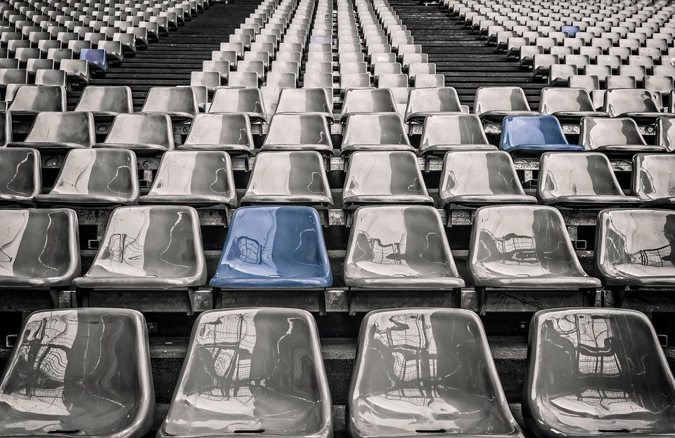 Stadium, Rows Of Seats, Grandstand, Sit