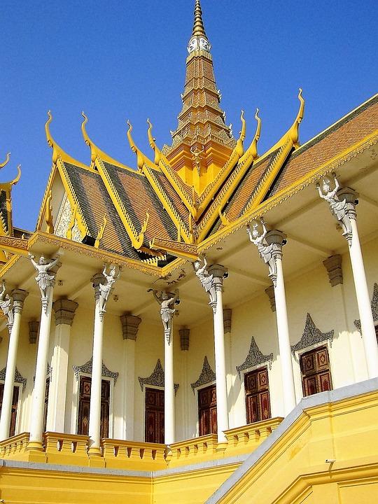 Palace, Cambodia, Royal
