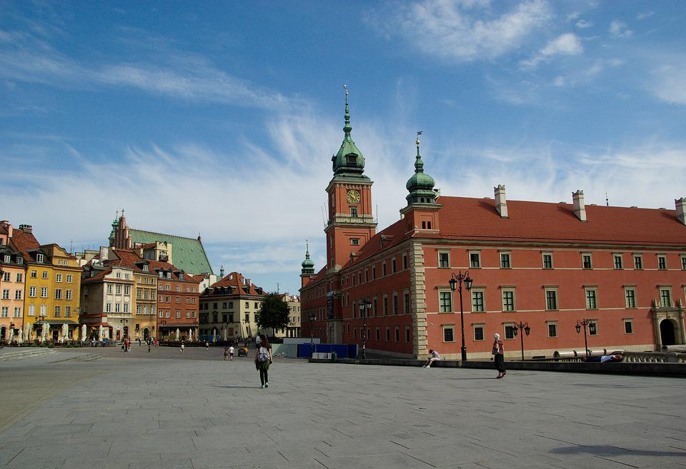 Poland, Warsaw, Royal Castle, Place, Old Town