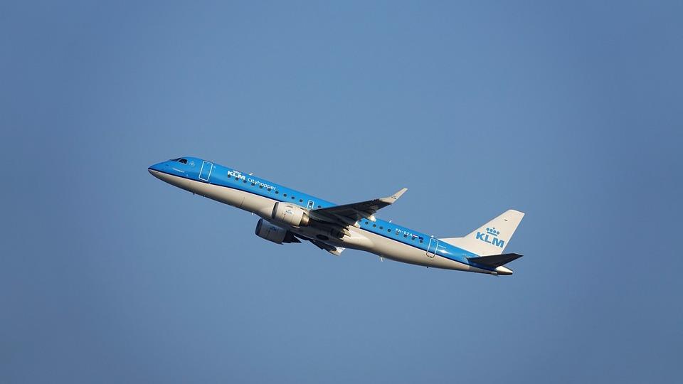 Plane, Klm, Royal Dutch Airlines Flights, Holland