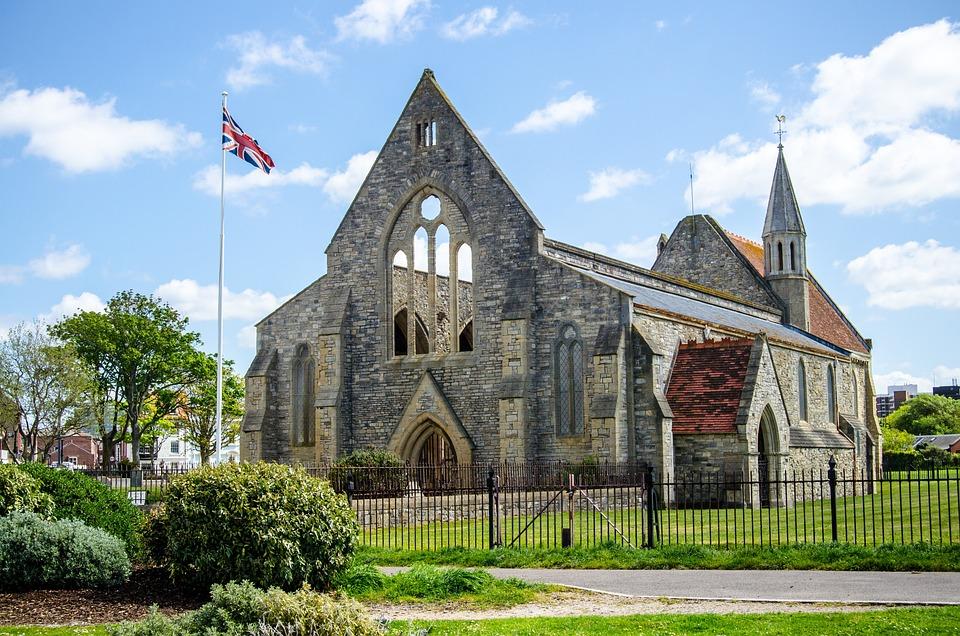 Portsmouth, Royal Garrison Church, England, Church