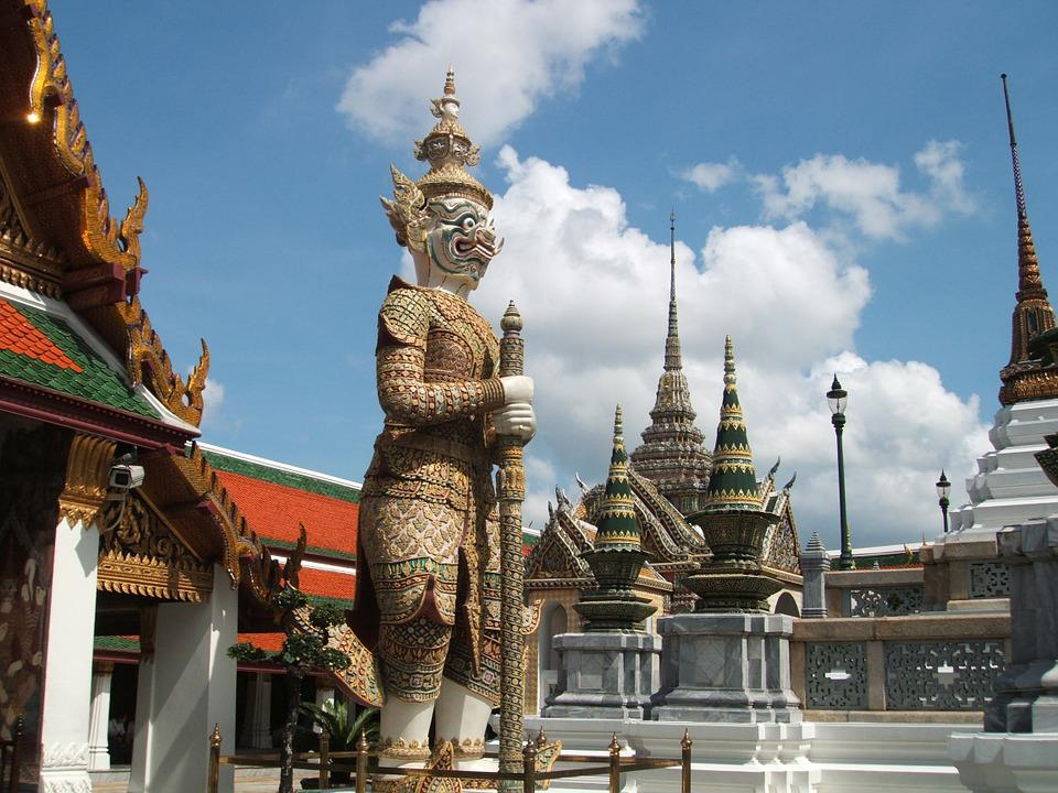 Thailand, Royal Palace, Statue, Garden
