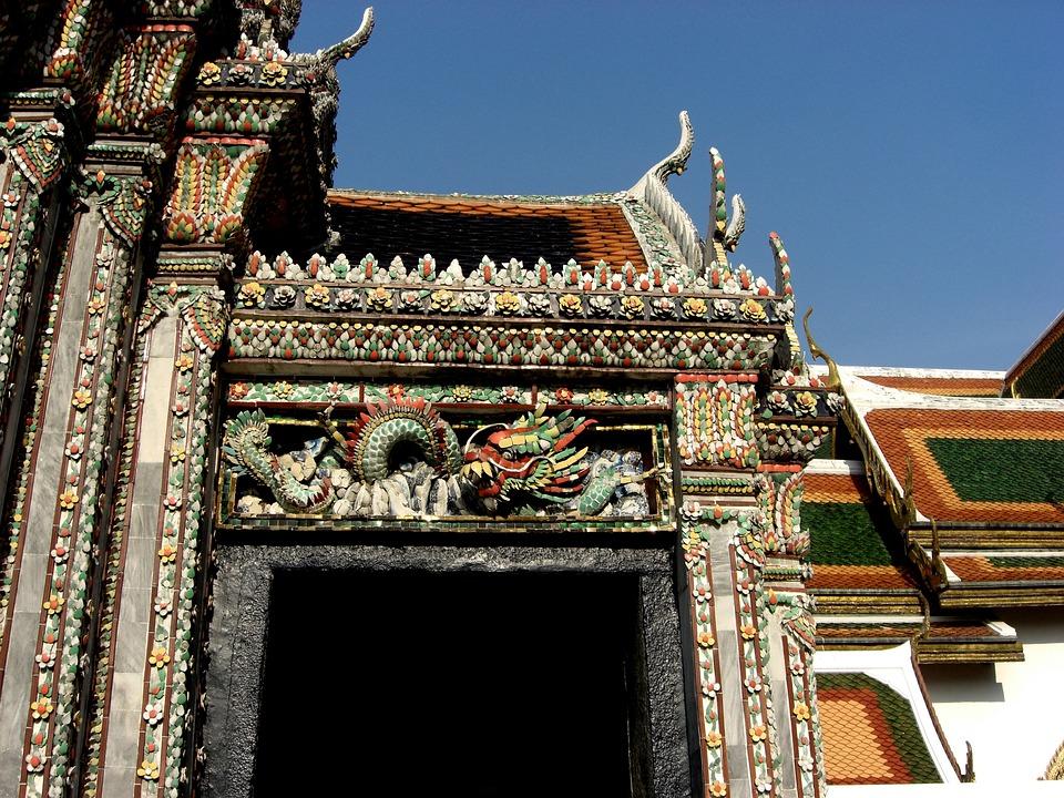 Bangkok, Thailand, Royal Palace, Building, Structure