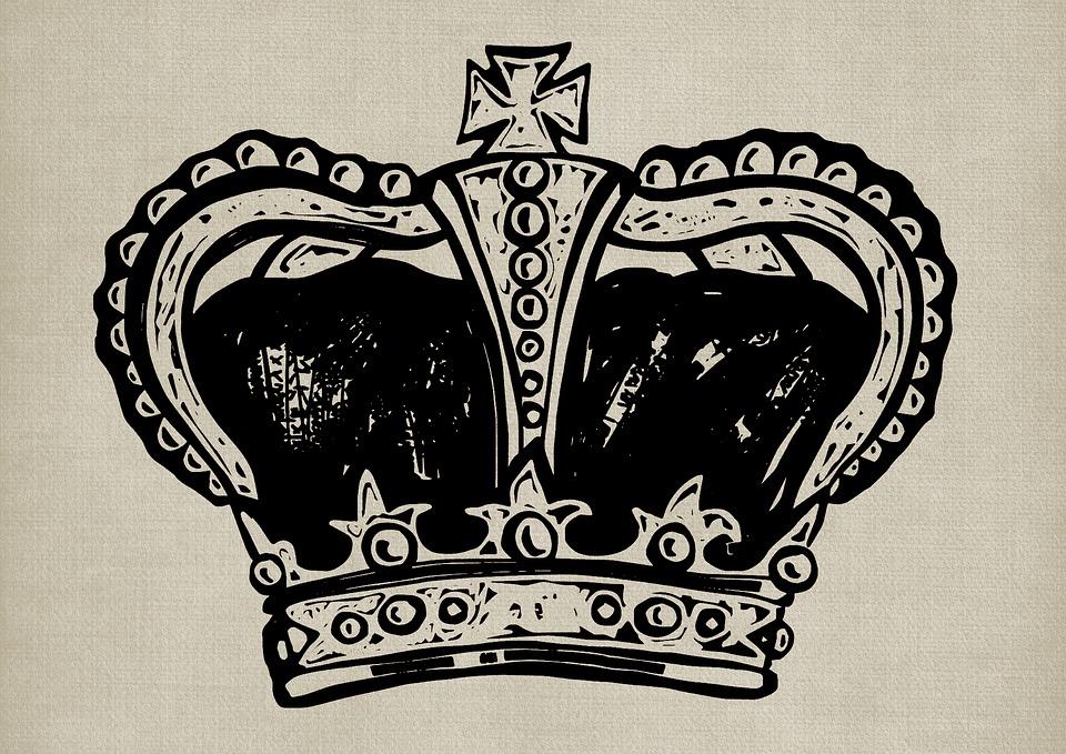 Crown, King, Queen, Royal, Royalty, Crowning, Vintage