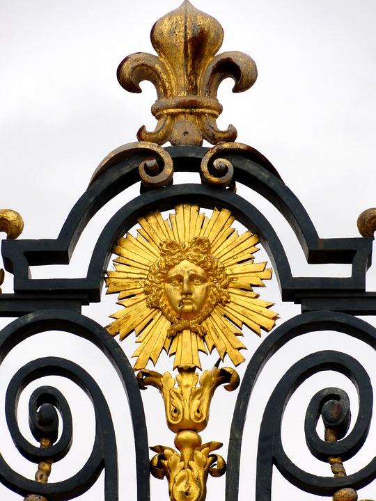 Goal, Royal, Fence, Versaille, Paris, Louis Xiv