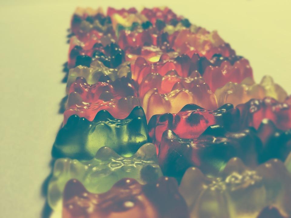 Gummibärchen, Rubber, Sweet, Candy