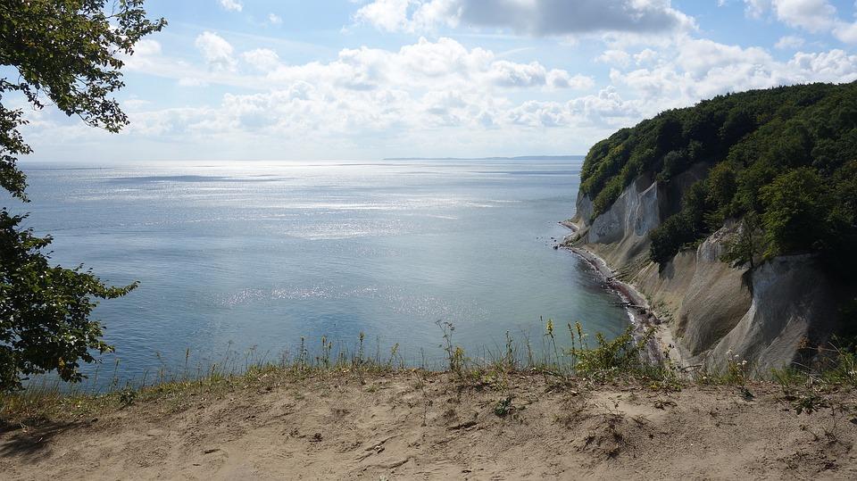 Rügen Island, White Cliffs, Cliffs, Coast