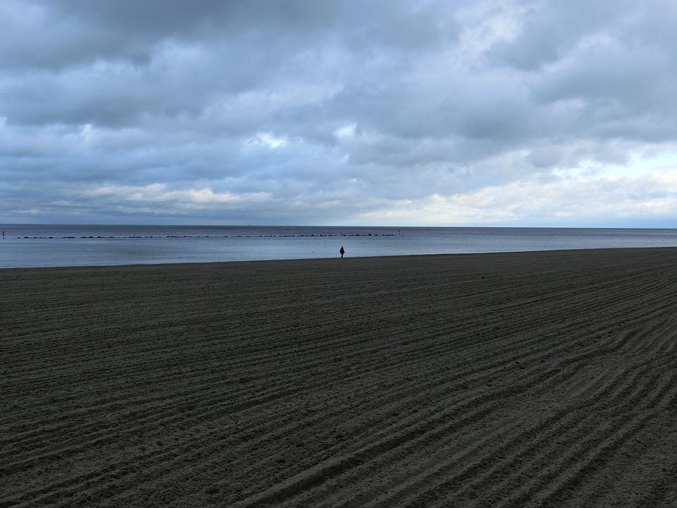 Beach, Rügen, Sky, Sand, Seaside Resort