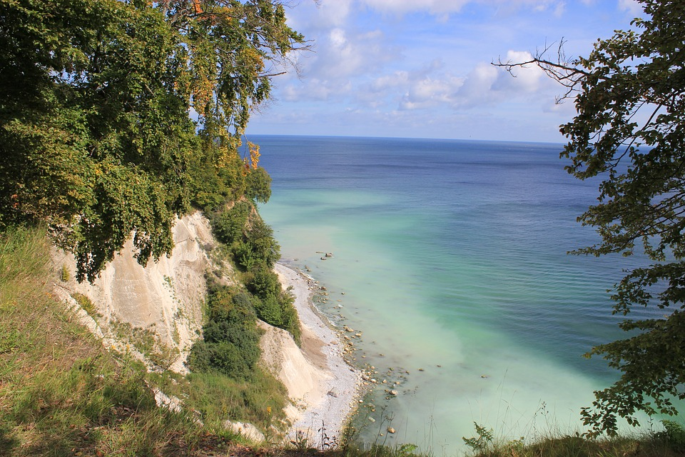 Rügen, Rügen Island, White Cliffs, Baltic Sea, Water