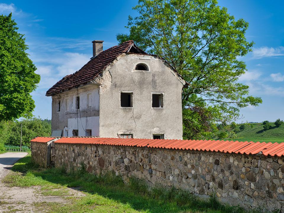 House, Decay, Ruin, Building, Abandoned, Break Up, Old