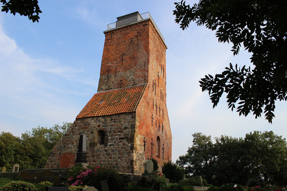 Ruin, Church, Steeple, Architecture, Building