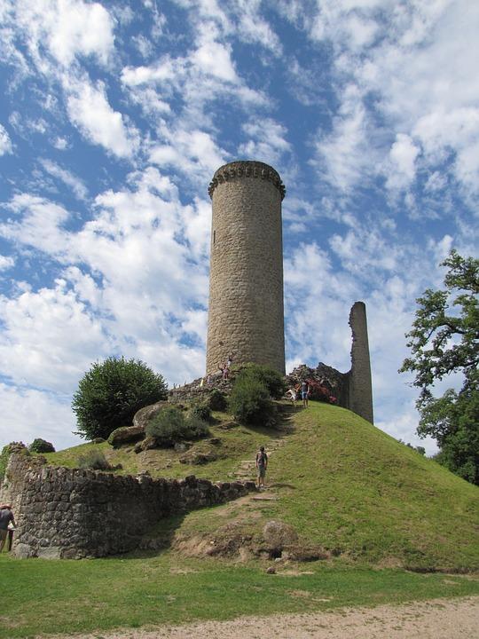 Ruin, France, Dordogne