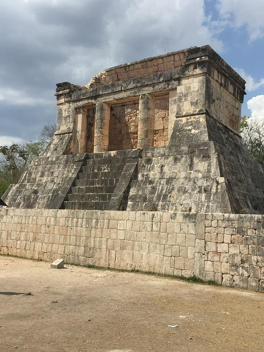 free photo ruin mexico ancient arch mayan architecture - max pixel