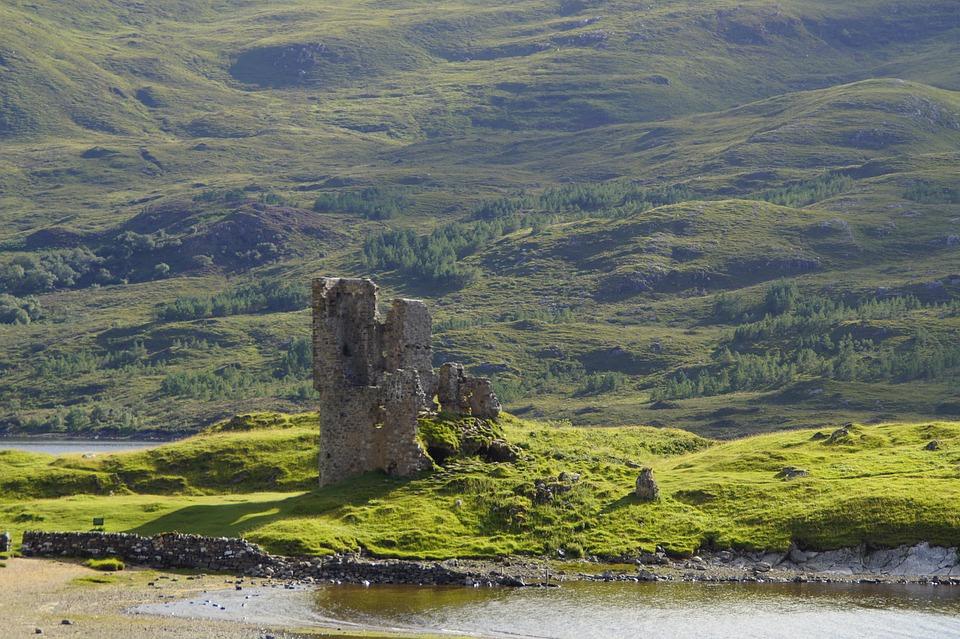Ruin, Scotland, Building, Architecture, Nature, Decay