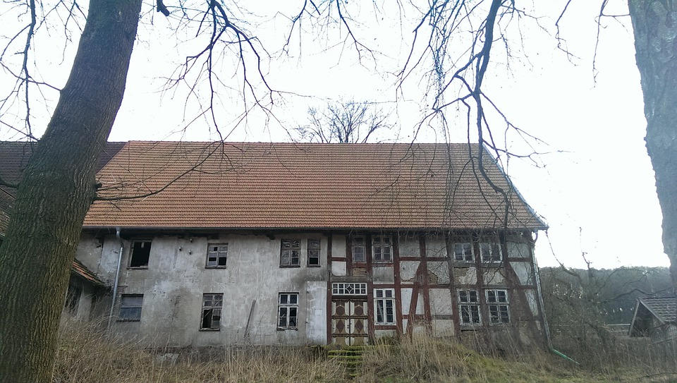 Old House, Ruin, Stall, Manor House, Urban Exploration