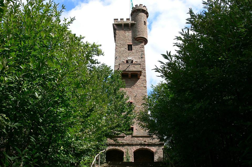 Tower, Lookout Tower, Ruin, Watchtower, Towers, Castles