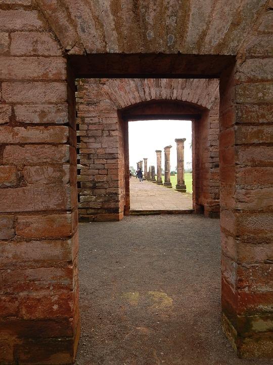 Ruin, War, Paraguay, Old Church, History