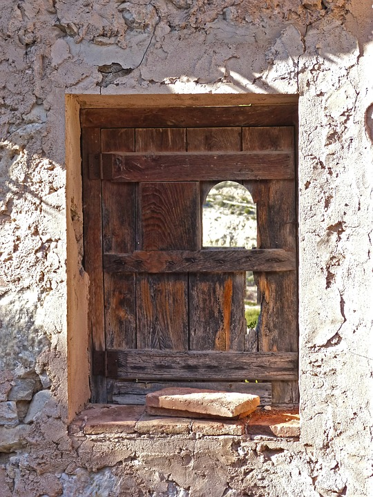 Window, Abandoned, Ruin, Bleak