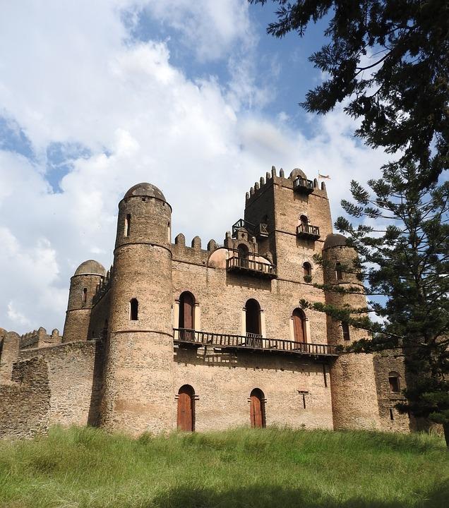 Gondar, Ethiopia, Ruins