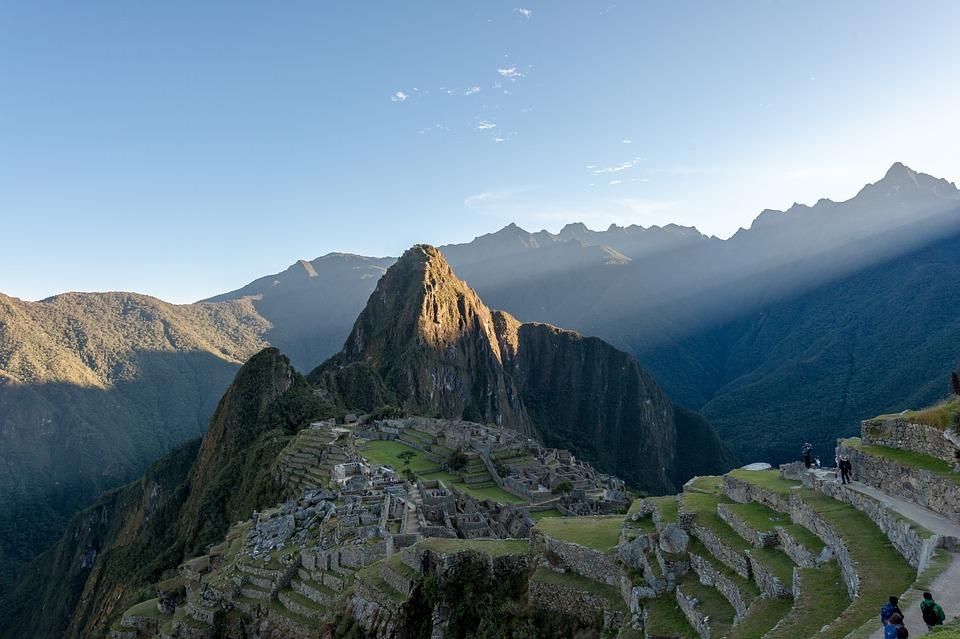 Sun Ray, Peru, Ruins, City, Wonder, Landscape, Sunset