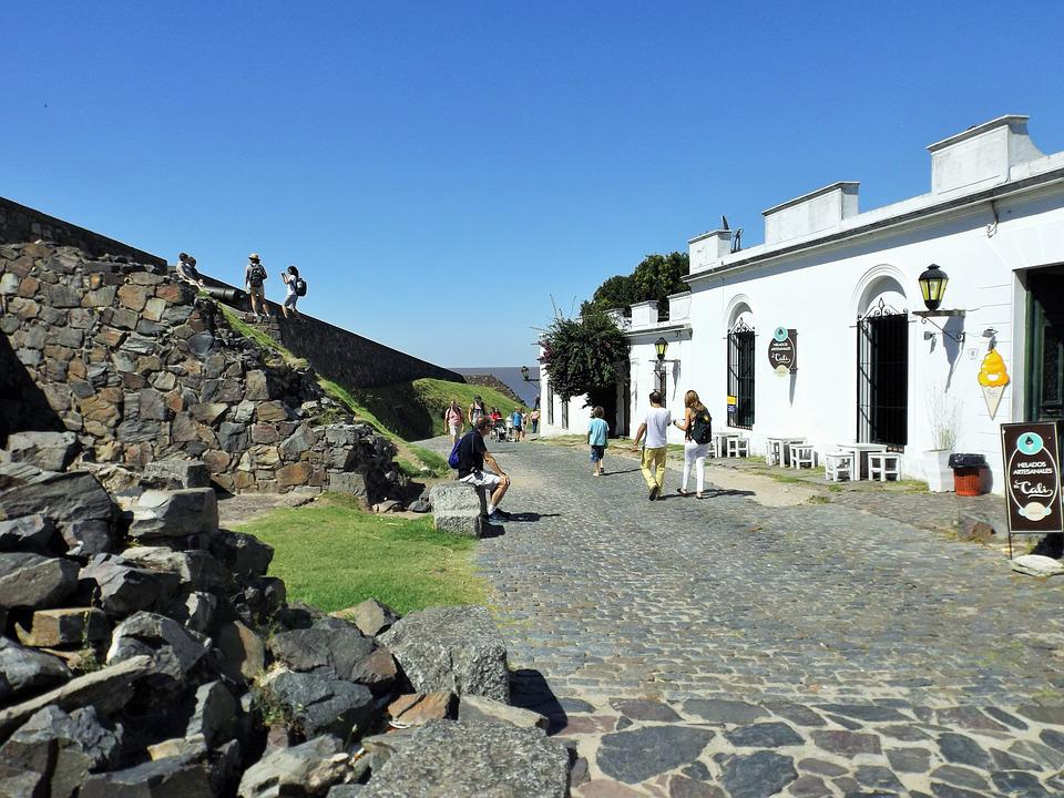 Cologne, Uruguay, Ruins, Wall, Stone, Tourism, Tourist