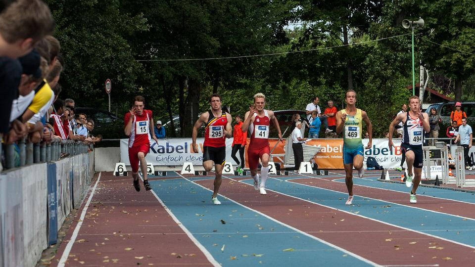 Athletics, Sport, Run, Junior Gala Mannheim
