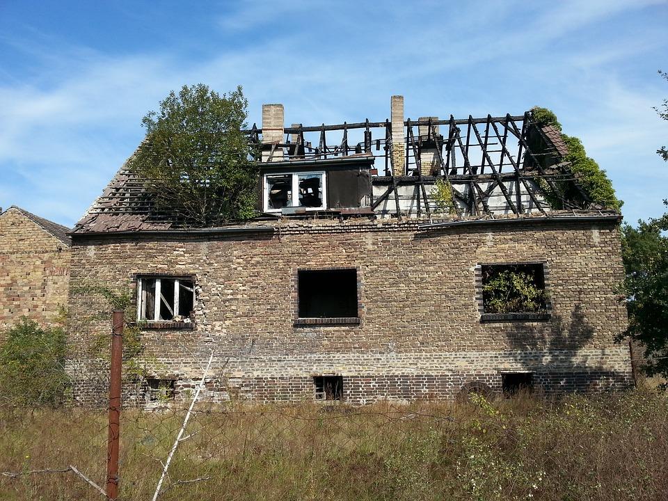 Home, Burned, Lapsed, Haunted House, Run Down, Ruin
