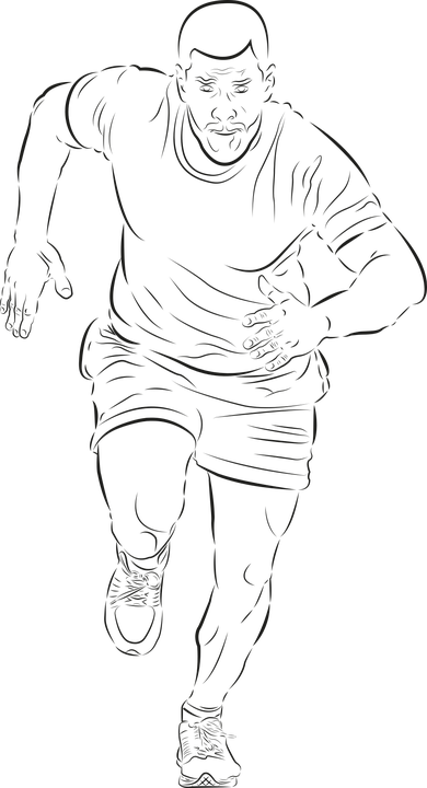 Run, Runner, Sport, Man, Fitness, Character, Feet