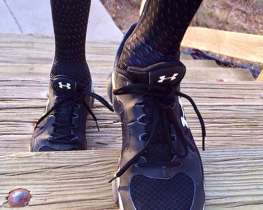 Run, Shoes, Stairs, Workout, Fitness, Sport, Runner