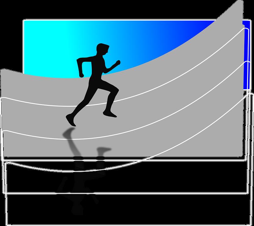 Man, Running, Athlet, Olympics