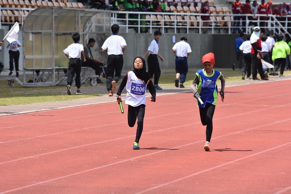 Sports, Girls, Athletic, Run, Fit, Runner, Running