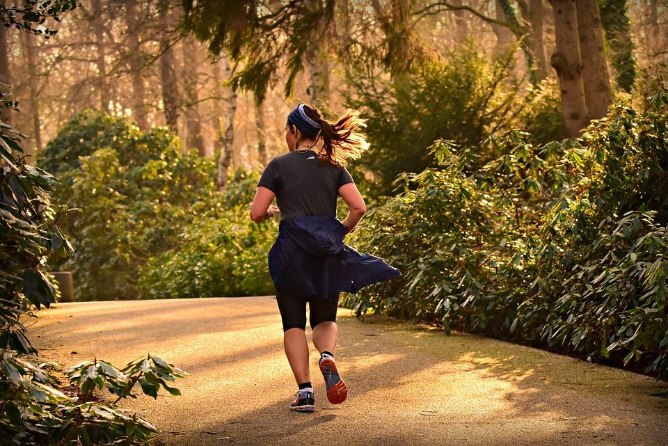 Woman, Running, Runner, Training, Fit, Healthy