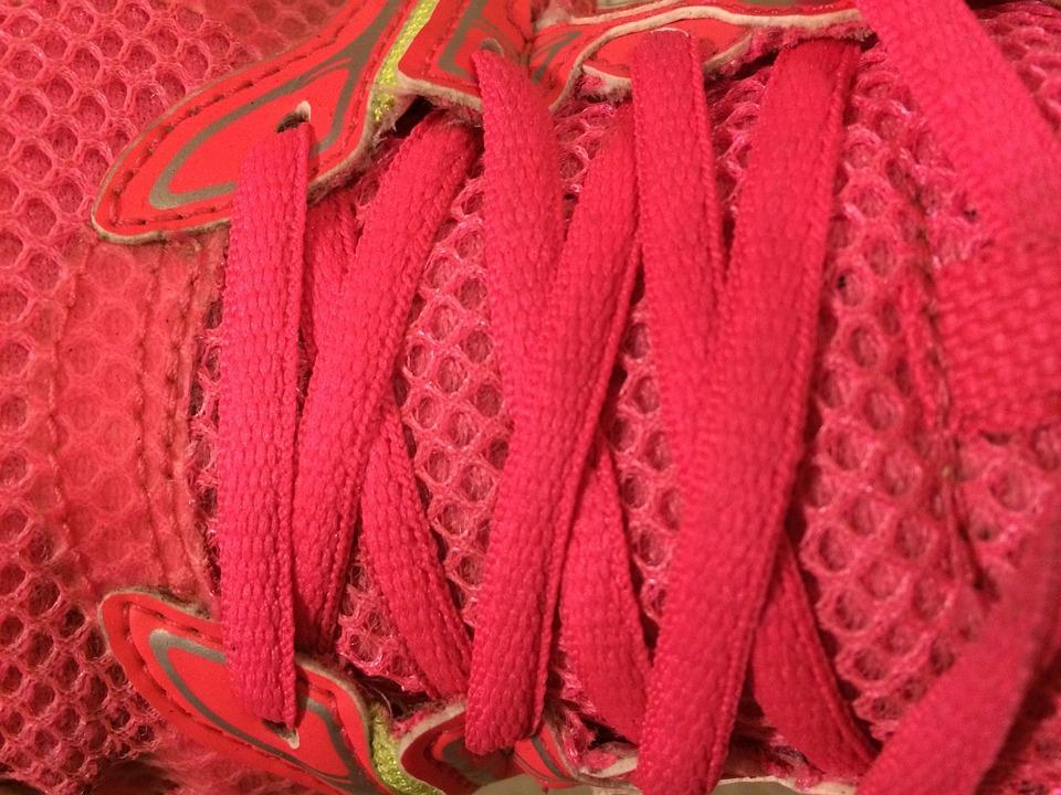 Shoe, Trainer, Running Shoe, Shoe Laces, Laces