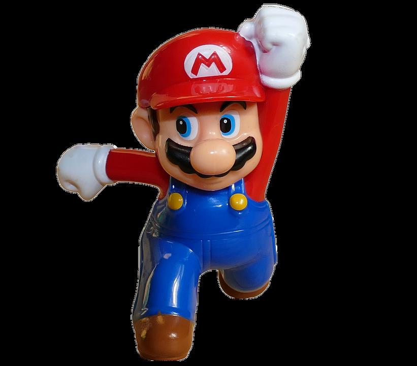 Super, Mario, Red, Jumping, Man, Running, Video, Games