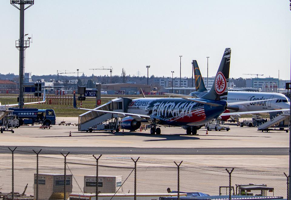 Airport, Airplane, Runway, Aircraft, Vehicle, Jet