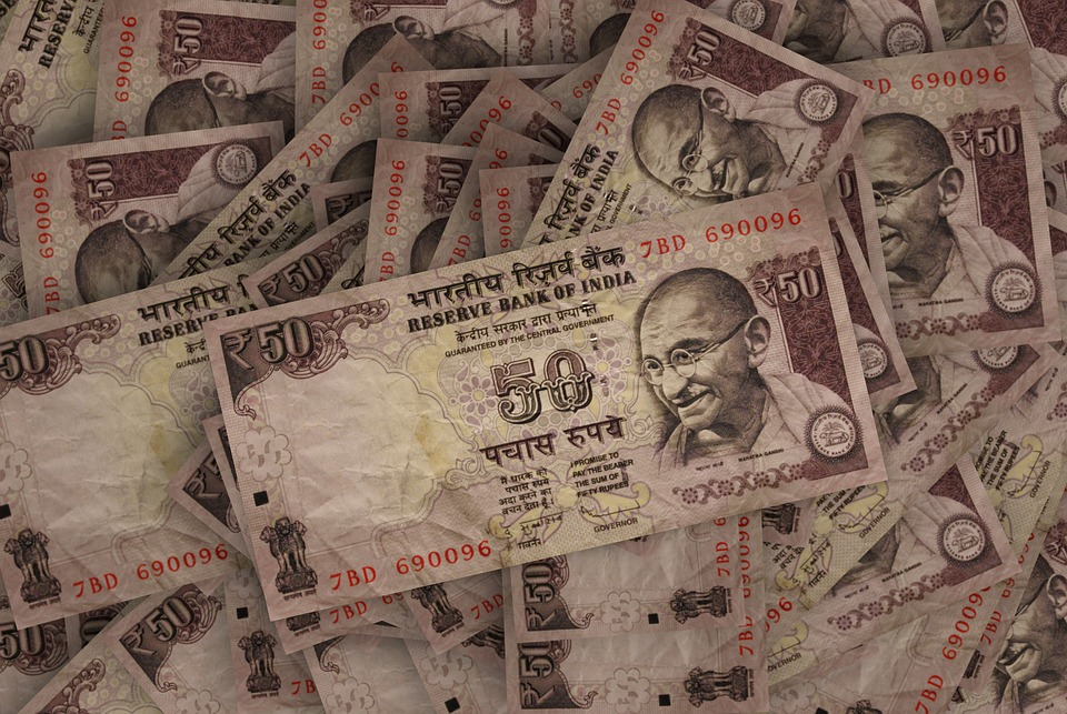 Free Photo Rupees Bills Economy India Bank Note Pay