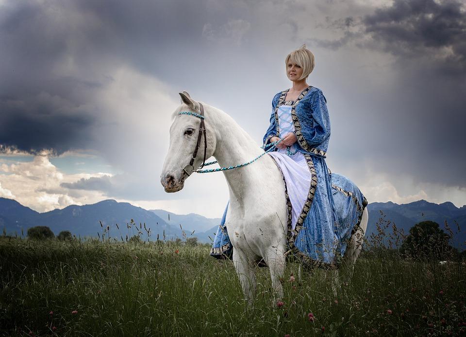 Horse, Ride, Animal, Mare, Nature, Equestrian, Rural