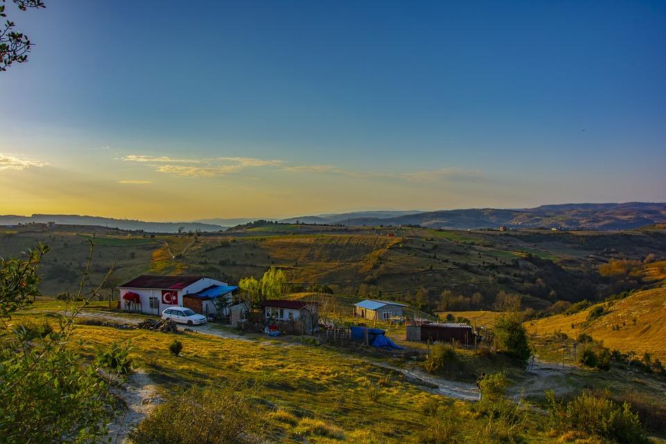 Landscape, Rural, Nature, Sunset, Beautiful, Clouds
