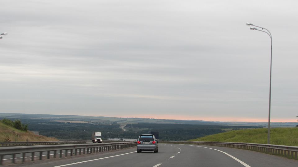 Russia, Nature, Landscape, Sky, Summer, Road, Vacation