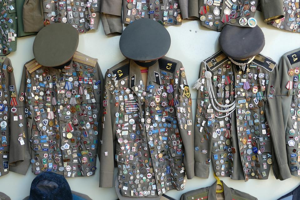 Military, Soldier, Uniform, Cap, Jacket, Order, Russia