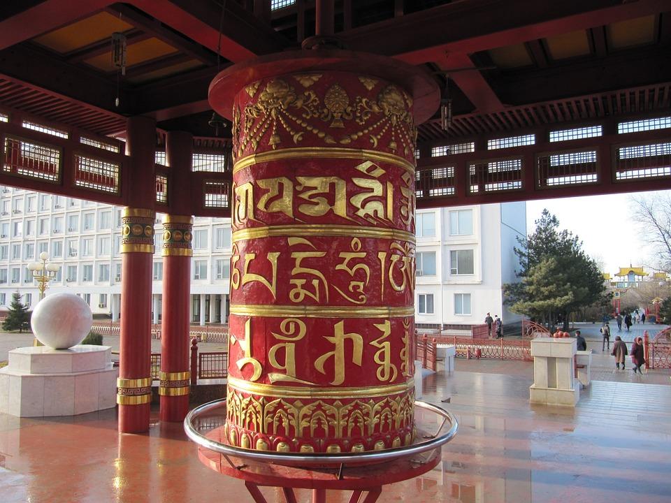 Russia, Pagoda, Religion, Buddhist, Buddhism, Symbols