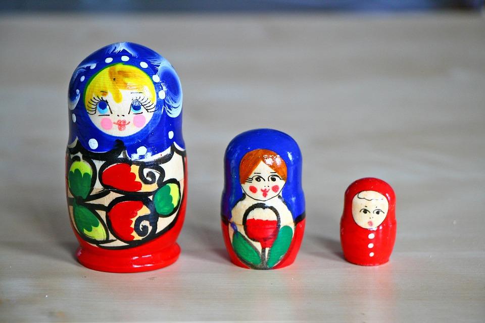 Matrioshka, Souvenir, Russia, Toy