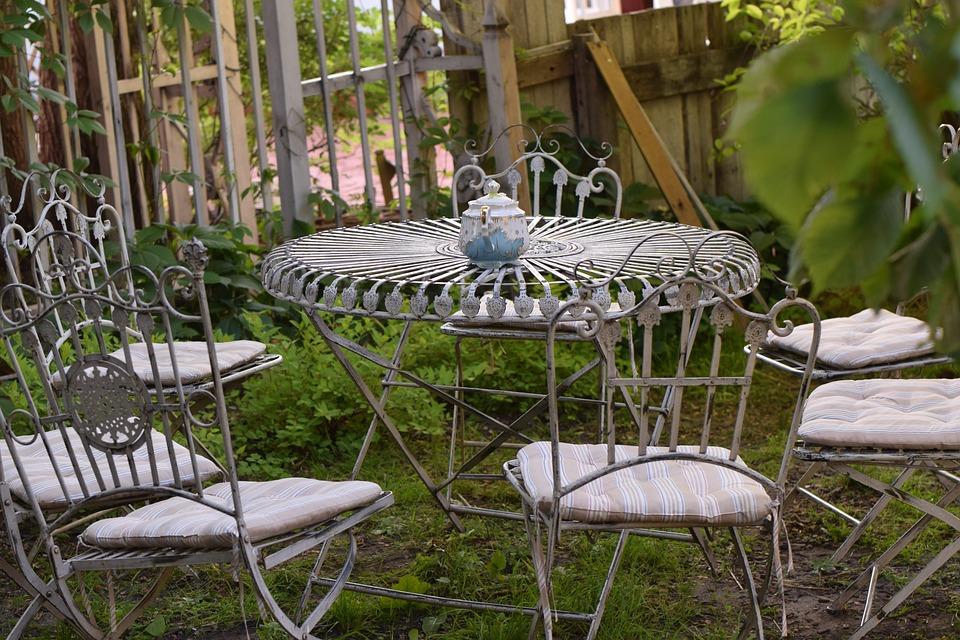 Table, A Park, Tea, The Outside, Cafe, Kolomna, Russia