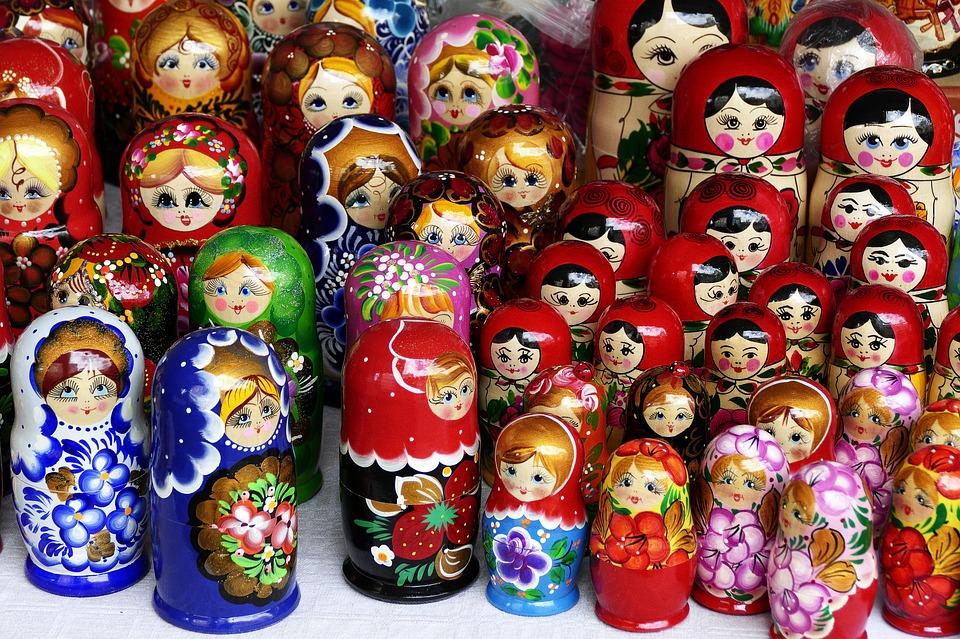 Dolls, Matryoshka, Matroschka, Babuschka, Russian Doll