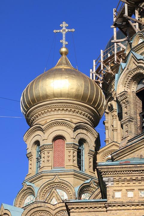 Latvia, Karosta, Cathedral, Russian, Orthodox