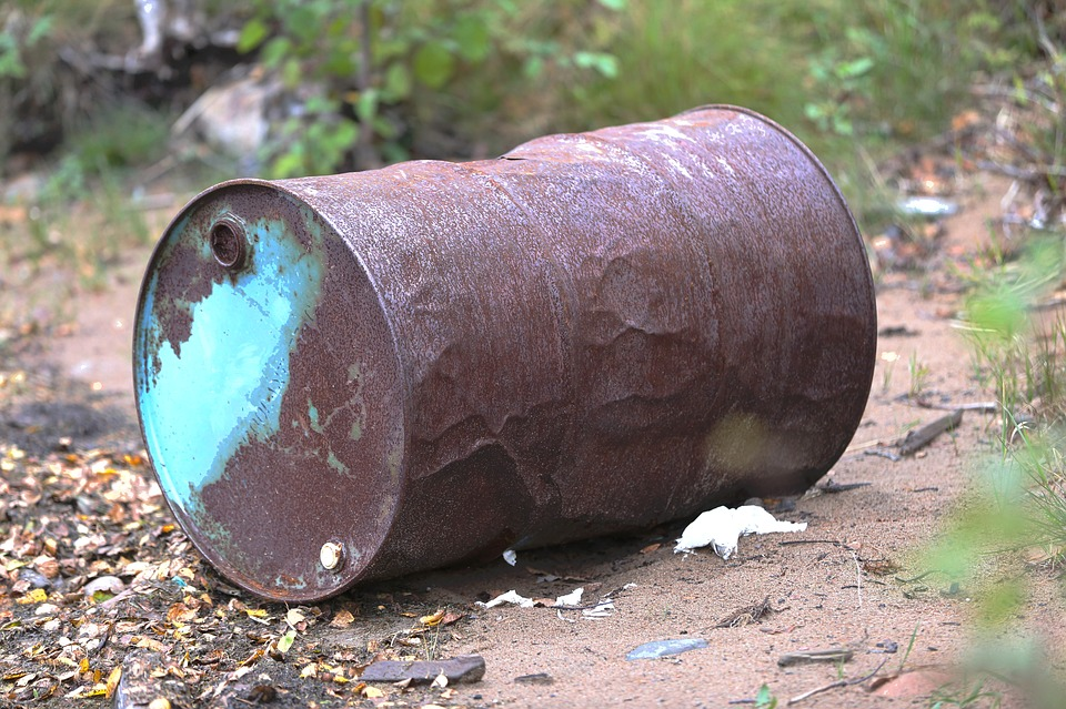 Barrel, Rust, Abandoned